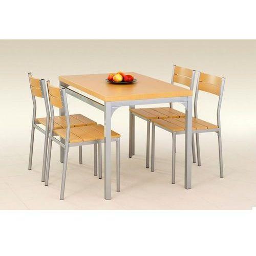 stół z krzesłami MALCOLM + 4 krzesła (olcha) z kategorii zestawy mebli kuchennych
