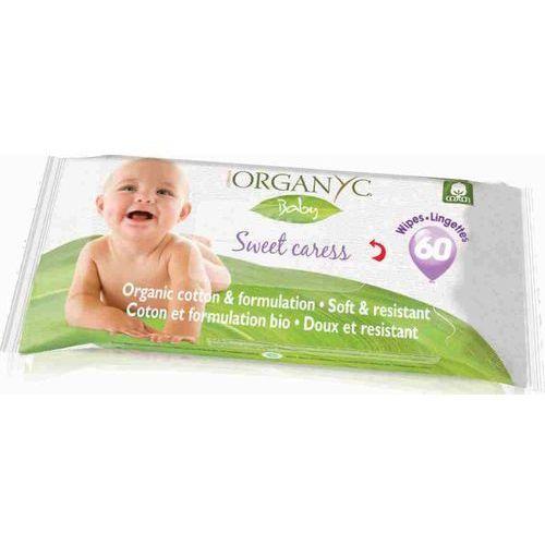 ORGANYC Bawełniane chusteczki higieniczno-nawilżające dla dzieci 60szt., C236-656C7