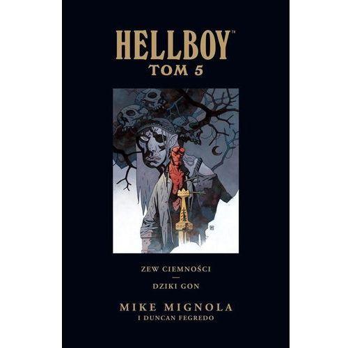 Hellboy: Zew ciemności. Dziki gon T. 5 (2018)