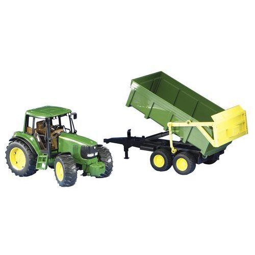 Bruder john deere 6920 traktor z przyczepą 02058 (4001702020583)