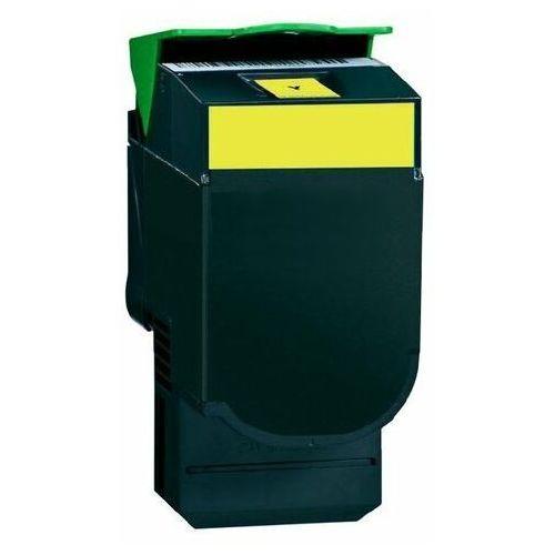 Toner zamiennik dt2130yl do lexmark c2132 xc2130 xc2132, pasuje zamiast lexmark 24b6010 yellow, 3000 stron marki Dobretonery.pl