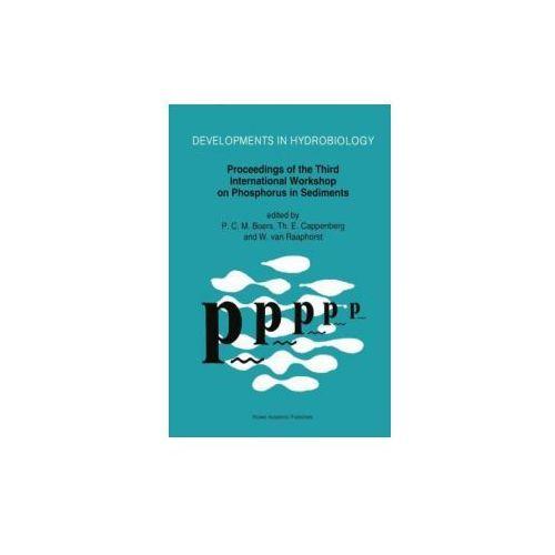 Proceedings of the Third International Workshop on Phosphorus in Sediments
