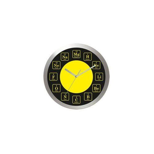 Zegar aluminiowy Czas na chemie #1, kolor Zegar