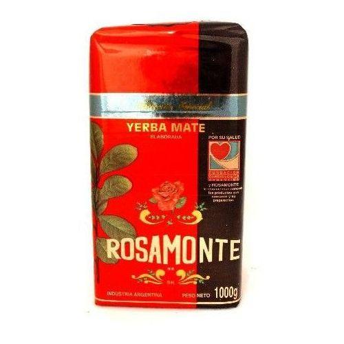 Yerba mate rosamonte, argentyna Yerba mate rosamonte especial specjalnie selekcjonowana 1000g