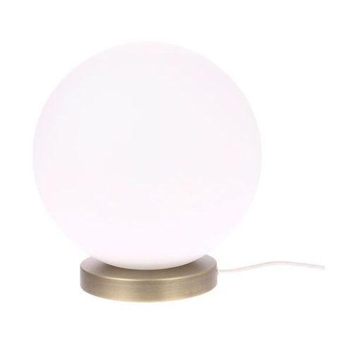 HK Living Lampa stołowa/podłogowa kula rozmiar L biała VOL5030, kolor biały;biały
