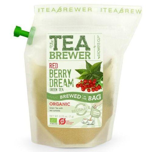 Herbata Zielona z Czerwoną Porzeczką 7g - Teabrewer EKO
