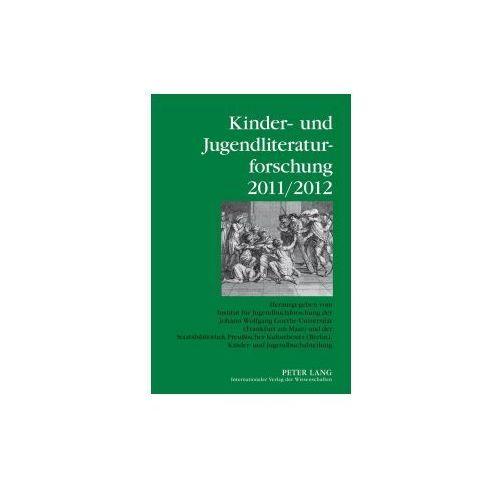 Kinder- und Jugendliteraturforschung 2011/2012