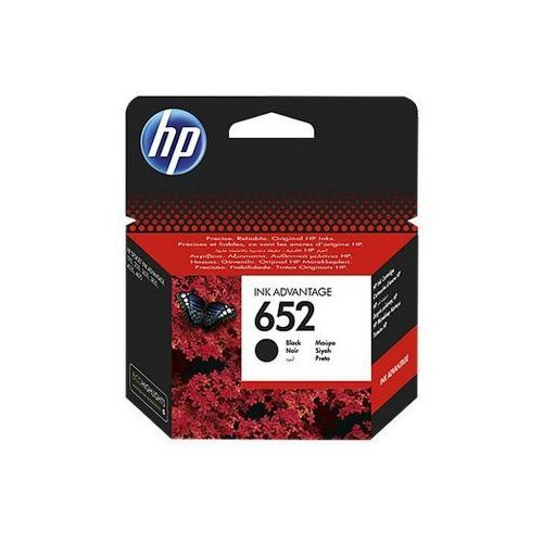 Tusz HP 652 Czarny, F6V25AE#BHK