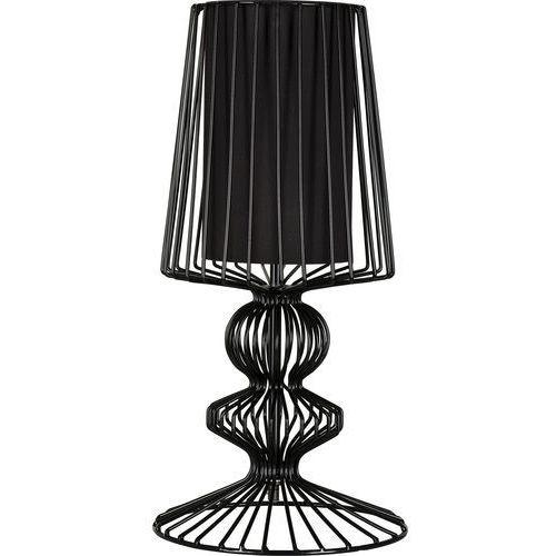 Druciana lampa stołowa AVEIRO Black wys. 43cm 5411 + RABAT w koszyku za ilość!!! - Czarny \ 43 (5903139541190)