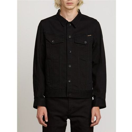 Kurtka - weaver denim jacket black (blk), Volcom