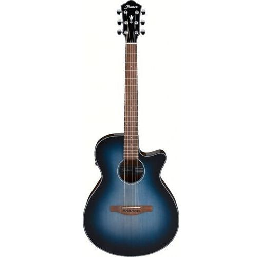 aeg50-ibh indigo blue burst high gloss gitara elektroakustyczna marki Ibanez