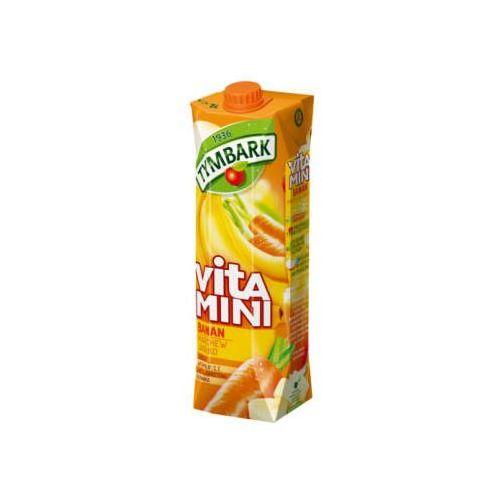 Sok vitamini banan marchew jabłko 1 l marki Tymbark