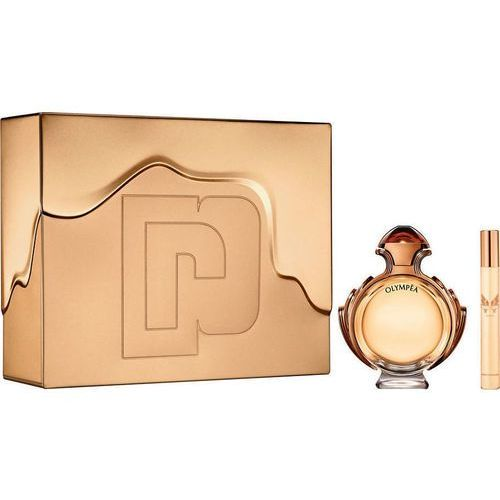 Paco rabanne olympea intense, zestaw podarunkowy, woda perfumowana 80ml + woda perfumowana 10ml