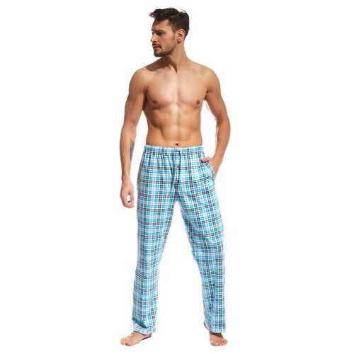 Cornette Spodnie piżamowe 691/02 601701 m, niebieski, cornette