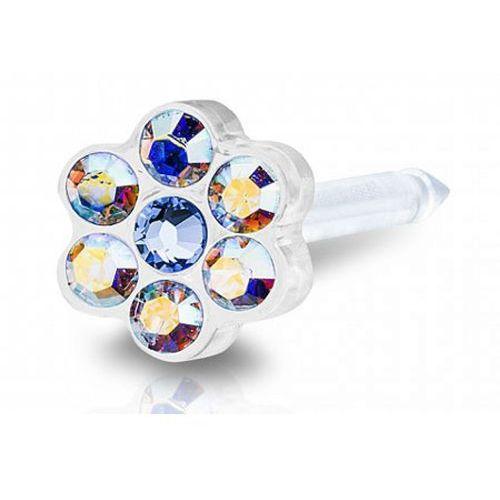 Blomdahl daisy rainbow / alexandrite 5 mm