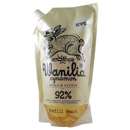 Yope mydło w płynie - wanilia cynamon opak. uzupełniające