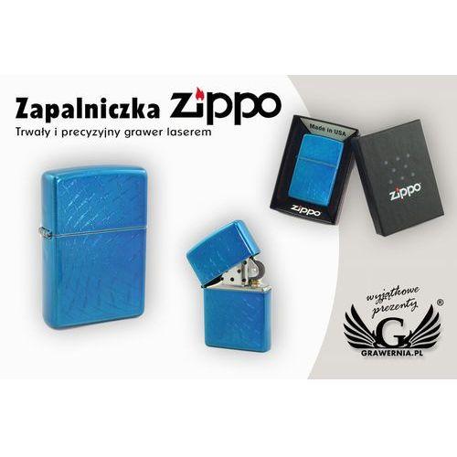 Zippo Zapalniczka iced diamond plate cerulean