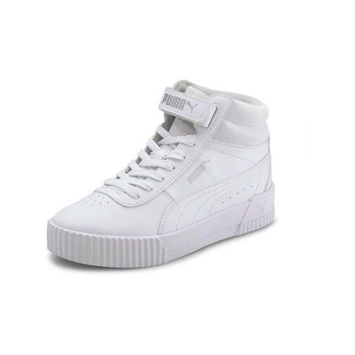 Buty młodzieżowe (gs) carina białe marki Puma