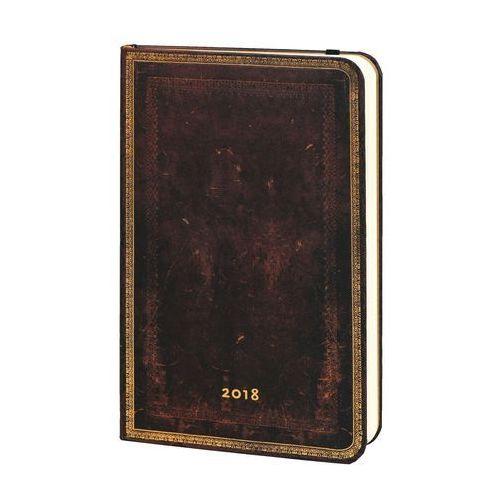 Kalendarz książkowy maxi 2018 12M hor.BlackMorocca