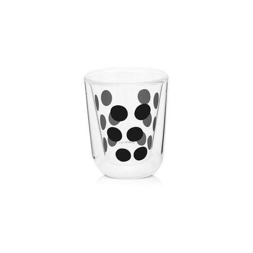 Zak!designs Zak! - szklanka 75 ml z podw. ściankami, czarna 0439-4716