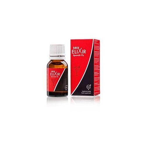 Silne krople miłości dla kobiet i mężczyzn sex elixir hiszpańska mucha 15 ml 660081 marki Cobeco pharma