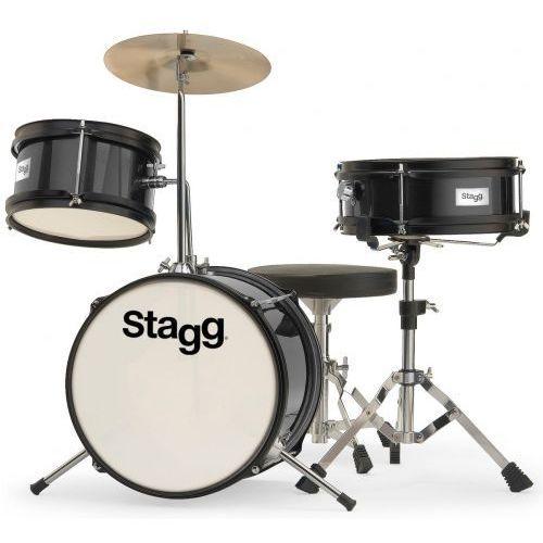 Stagg TIM-J 3/12 BK akustyczny zestaw perkusyjny