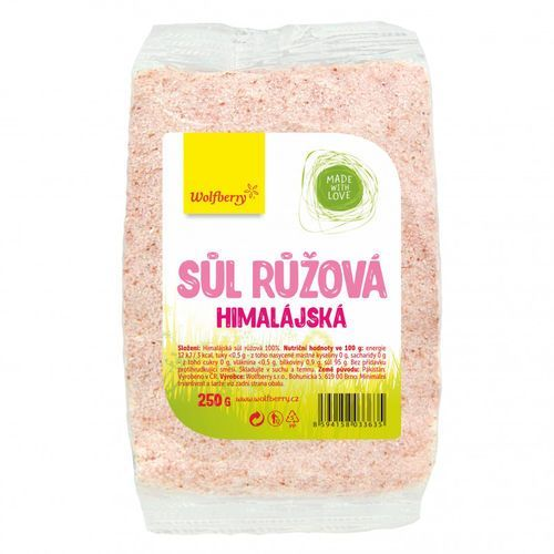 Wolfberry różowa sól himalajska 250 g (8594158033635)