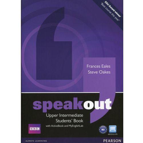 Speakout upper intermediate Students' book with ActiveBook and MyEnglishLab, oprawa miękka