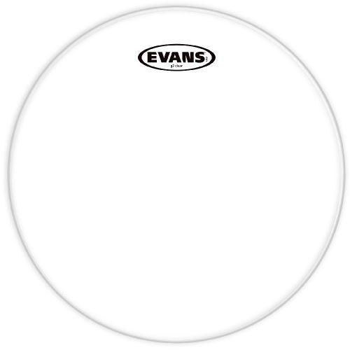 Evans TT10G2 naciąg perkusyjny 10″, przeźroczysty