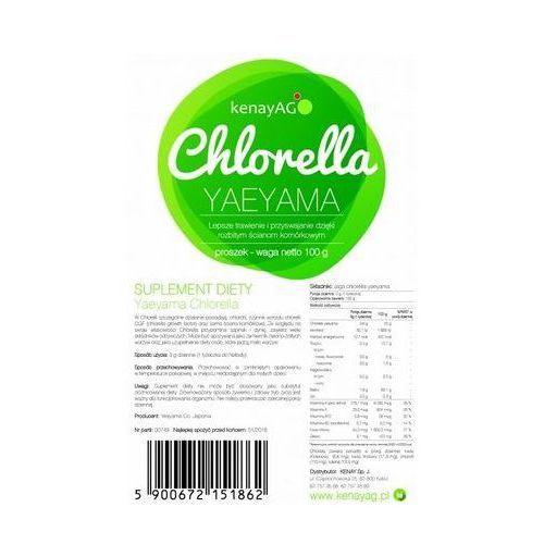Chlorella proszek 100g, KENAY