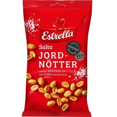 - salta jordnotter - prażone orzeszki ziemne - z solą - 275g - ze szwecji marki Estrella