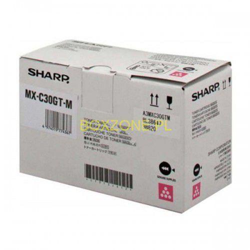 Sharp oryginalny toner mx-c30gtm, magenta darmowy odbiór w 21 miastach!