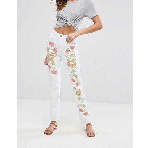 Glamorous Jeans - White, 1 rozmiar