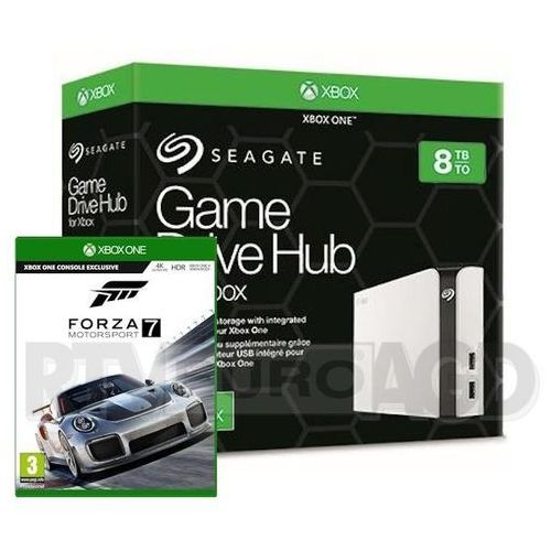 Seagate Game Drive HUB 8TB dla Xbox One STGG8000400 + gra Forza Motosport 7 (0000001132123)