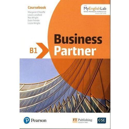 Business Partner B1 Coursebook with MyEnglishLab, oprawa miękka