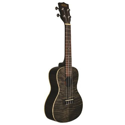 exotic mahogany ply concert ukulele black ukulele koncertowe + pokrowiec marki Kala