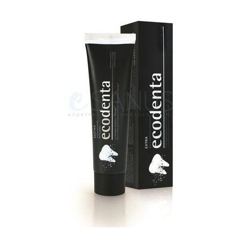 Ekologiczna czarna, wybielająca pasta do zębów ECODENTA 100ml