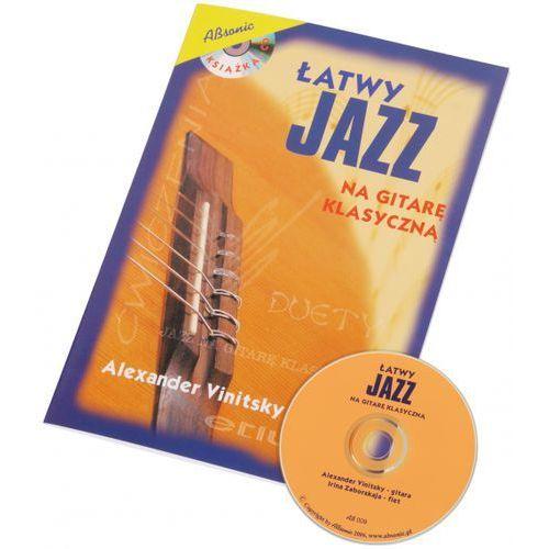 AN Viniitsky Alexander ″Łatwy jazz na gitarę klasyczną″ książka + CD