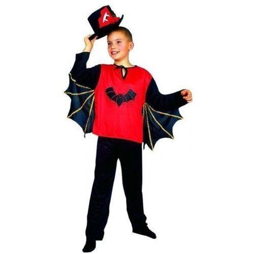 Strój drakula - przebrania dla dzieci na halloween - 146 cm marki Aster