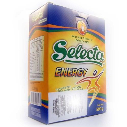 Yerba Mate Selecta Energy z Guaraną 500g