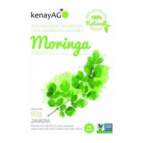 Kenay ag Moringa sproszkowane organiczne liście 50g