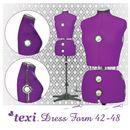 Produkt Manekin krawiecki Texi Dress Form regulowany w rozmiarze 42-48