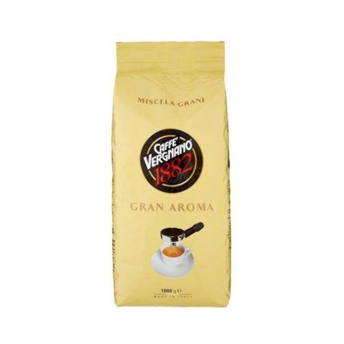 Caffe vergnano 1kg gran aroma włoska kawa ziarnista import