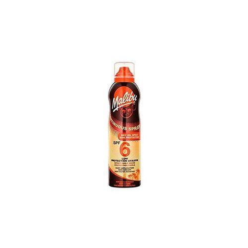 Malibu continuous spray dry oil spf6 preparat do opalania ciała 175 ml dla kobiet (5025135116896)