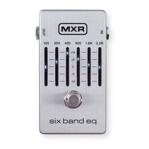 MXR M109S - Six Band Equalizer, silver efekt gitarowy