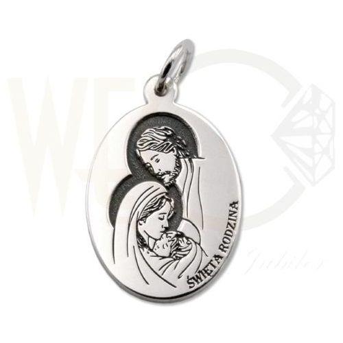 Węc - twój jubiler Medalik srebrny święta rodzina z nazaretu med-sw-rodz-01