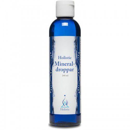 Holistic Mineral-droppar oczyszczona woda z Wielkiego Jeziora Słonego 240 ml (7350012330903)