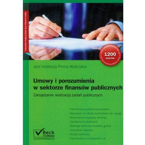 Umowy i porozumienia w sektorze finansów publicznych, oprawa miękka