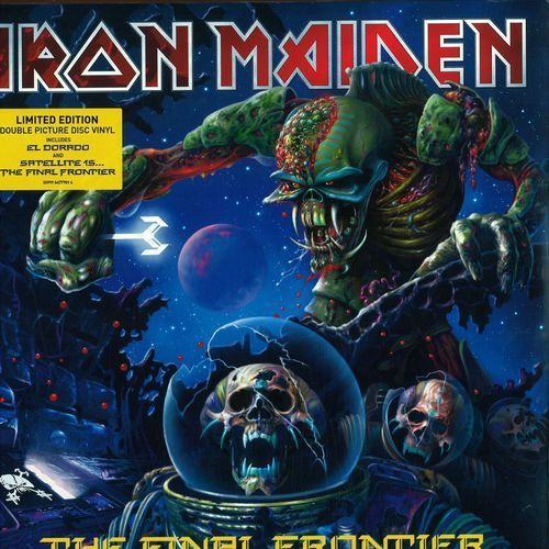 The Final Frontier (Special Limited Edition) - Iron Maiden (Płyta CD)