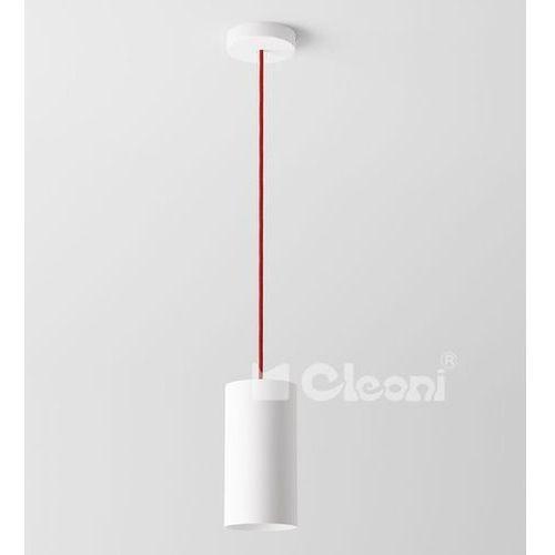 lampa wisząca CERTO B1A z czerwonym przewodem ŻARÓWKA LED GRATIS!, CLEONI 1291B1A+